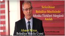 Seferihisar Belediyesinde Ahıska Türkleri Sürgünü Anıldı
